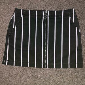 Volcom striped skirt